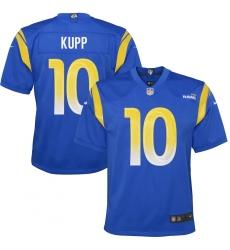 Youth Los Angeles Rams #10 Cooper Kupp Blue Nike Royal Game Jersey.webp