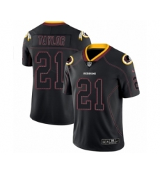 Men's Nike Washington Redskins #21 Sean Taylor Limited Lights Out Black Rush NFL Jersey