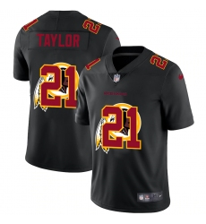 Men's Washington Redskins #21 Sean Taylor Black Nike Black Shadow Edition Limited Jersey