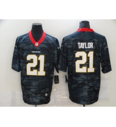 Men's Washington Redskins #21 Sean Taylor Camo 2020 Nike Limited Jersey