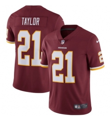 Youth Nike Washington Redskins #21 Sean Taylor Burgundy Red Team Color Vapor Untouchable Limited Player NFL Jersey