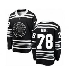 Men's Chicago Blackhawks #78 Nathan Noel Black Alternate Fanatics Branded Breakaway Hockey Jersey