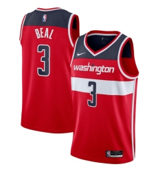 Men's Washington Wizards #3 Bradley Beal Nike Red 2020-21 Swingman Jersey