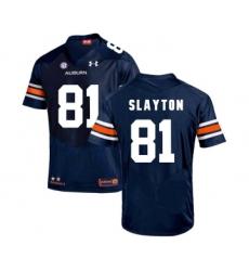Auburn Tigers 81 Darius Slayton Navy College Football Jersey