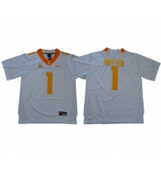 Vols #1 Jason Witten White Limited Stitched NCAA Jersey