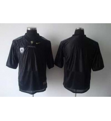 Ducks Blank Black Embroidered NCAA Jersey