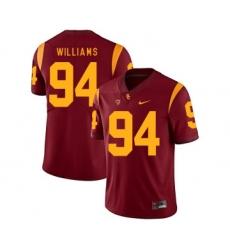 USC Trojans 94 Leonard Williams Red College Football Jersey