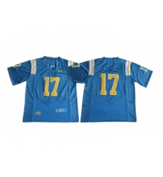 UCLA Bruins 17 Brett Hundley Blue College Football Jersey
