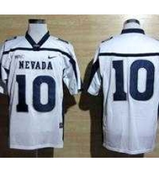 NEW Nevada Wolf Pack Colin Kaepernick 10 WAC Patch College Football Jerseys - White