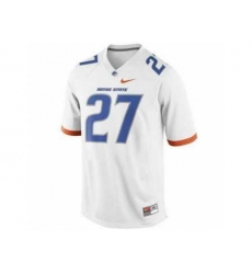 Boise State Broncos 27# Jay Ajayi White College Football Nike NCAA Jerseys