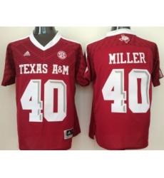 Texas A&M Aggies 40 Von Miller Red College Jersey