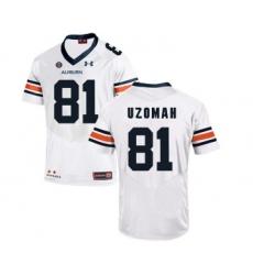 Auburn Tigers 81 C.J. Uzomah White College Football Jersey
