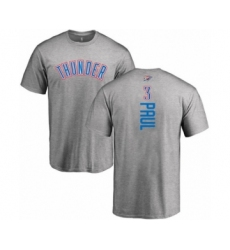 Basketball Oklahoma City Thunder #3 Chris Paul Ash Backer T-Shirt