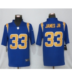 Nike NFL Los Angeles Chargers #33 Derwin James jr Blue 2020 Vapor Limited Jersey