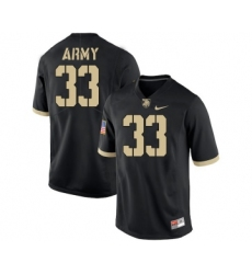 Army Black Knights 33 Darnell Woolfolk Black College Football Jersey