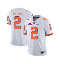 Clemson Tigers 2 Sammy Watkins White Nike College Football Jersey