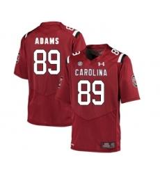 South Carolina Gamecocks 89 Jerell Adams Red College Football Jersey