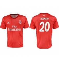2018-19 Real Madrid 20 ASENSIO Third Away Thailand Soccer Jersey