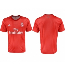 2018-19 Real Madrid Third Away Thailand Soccer Jersey