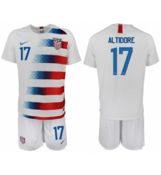 2018-19 USA 17 ALTIDORE Home Soccer Jersey