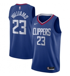 Men's LA Clippers #23 Lou Williams Nike Royal 2020-21 Swingman Jersey