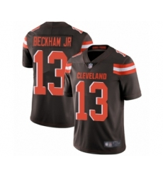 Youth Odell Beckham Jr. Limited Brown Nike Jersey NFL Cleveland Browns #13 Home Vapor Untouchable