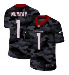 Men's Arizona Cardinals #1 Kyler Murray Camo 2020 Nike Limited Jersey