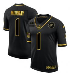 Men's Arizona Cardinals #1 Kyler Murray Olive Gold Nike 2020 Salute To Service Limited Jersey