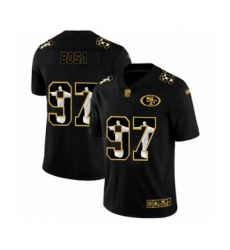 Men's San Francisco 49ers #97 Nick Bosa Black Jesus Faith Limited Football Jersey
