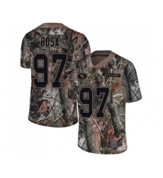 Youth San Francisco 49ers #97 Nick Bosa Limited Camo Rush Realtree Football Jersey