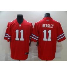 Men's Buffalo Bills #11 Cole Beasley Red Nike Royal Limited Player Jersey