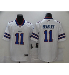 Men's Buffalo Bills #11 Cole Beasley White Nike Royal Limited Player Jersey