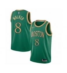 Men's Boston Celtics #8 Kemba Walker Swingman Green Basketball Jersey - 2019 20 City Edition
