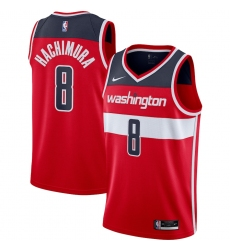 Men's Washington Wizards #8 Rui Hachimura Nike Red 2020-21 Swingman Jersey