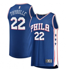 Men's Philadelphia 76ers #22 Matisse Thybulle Fanatics Branded Royal 2020-21 Fast Break Player Jersey
