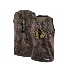 Men's Dallas Mavericks #1 Courtney Lee Swingman Camo Realtree Collection Basketball Jersey