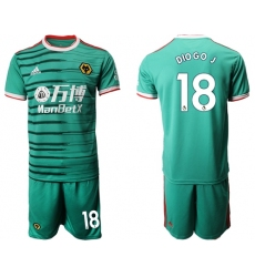 Wolves #18 DIO GO.J Third Soccer Club Jersey
