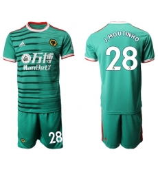 Wolves #28 J.Moutinho Third Soccer Club Jersey