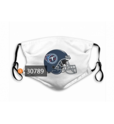 Tennessee Titans Mask-0019