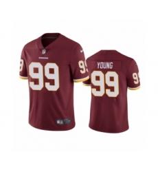 Washington Redskins #99 Chase Young Burgundy 2020 NFL Draft Vapor Limited Jersey