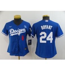 Women's Nike Los Angeles Dodgers Kobe Bryant Blue Jersey