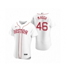 Men's Boston Red Sox #46 Collin McHugh Nike White Authentic 2020 Alternate Jersey