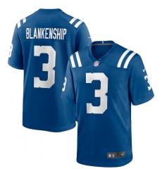 Men's Indianapolis Colts #3 Rodrigo Blankenship Nike Royal Game Jersey.webp