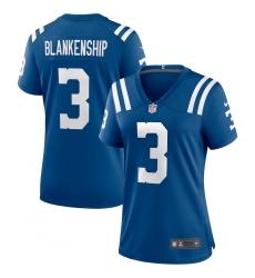 Women's Indianapolis Colts #3 Rodrigo Blankenship Nike Royal Game Jersey.webp