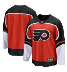 Men's Philadelphia Flyers Blank Fanatics Branded Orange 2020-21 Special Edition Breakaway Jersey