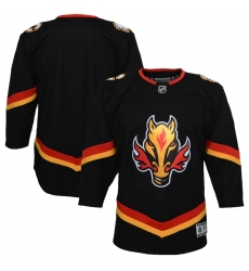 Youth Calgary Flames Blank Black 2020-21 Special Edition Premier Jersey