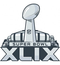 Stitched 2015 Arizona Super Bowl XLIX 49 Jersey Patch