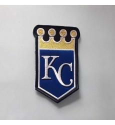 Stitched MLB Kansas City Royals Team Logo Jersey Sleeve Patch