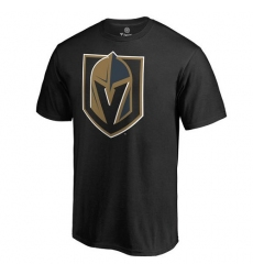 NHL Men's Vegas Golden Knights Black Primary Logo T-Shirt
