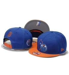 NHL Edmonton Oilers Stitched Snapback Hats 001